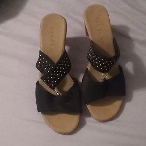 Pesaro sandals heels slip on